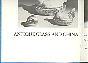 Antique Glass and China Guide Begining Collector (Image1)