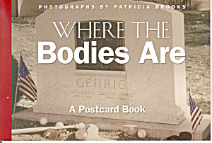 Where The Bodies Are, Postcard Book