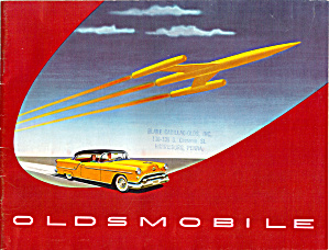 1954 Oldsmobile Sales Brochure B12532