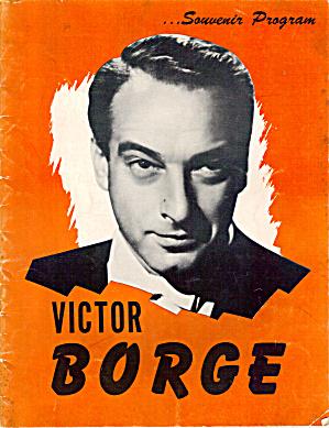 Victor Borge Souvenir Program 1953 b1528 (Image1)