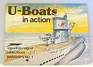 U-boats In Action No. 1 By Robert Stern (1996, Paperback, Reprint)