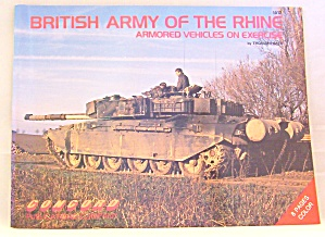 British Army Of The Rhine- Armored Vehicles On Excercise By Thomas Laber #1012