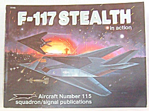 F-117 Stealth In Action By Jim Goodall (1991, Paperback) -