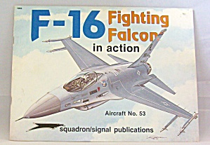F-16 Falcon In Action By Lou Drendel (1984, Paperback)