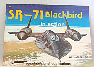 Sr-71 Blackbird In Action No. 55 By Lou Drendel (1982, Paperback)