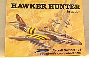 Hawker Hunter In Action By Glenn Ashley (1992, Paperback)