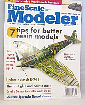 Fine Scale Modeler September 2004