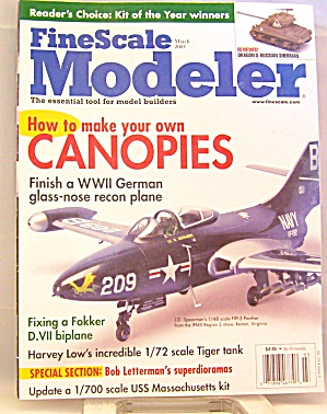 Fine Scale Modeler March 2005