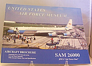 United States Air Force Museum Brochure Paperback