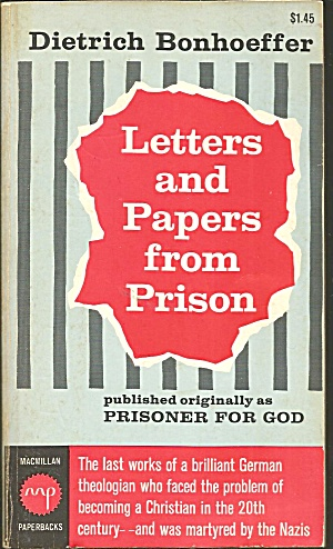 Letters And Papers From Prison Dietrich Bonhoeffer B2774