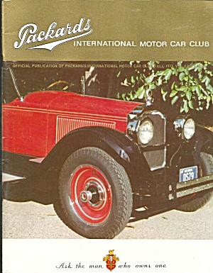 Packards Inter Motor Car Club Magazine Fall 1971 Vol 8 No.3 b2820 (Image1)
