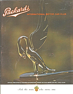 Packard Int Motor Car Club Magazine 1973 Vol 10 No.4 B2821