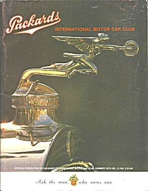 Packard Int Motor Car Club Magazine 1974 Vol 11 No2 B2822