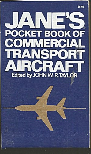 Jane's Pocket Book Of Commercial Transport Aircraft Taylor 1976 B2722