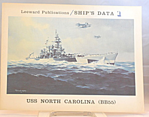 Ships Data 1 Uss North Carolina Bb55 B2902
