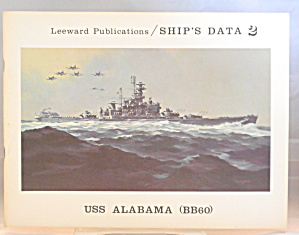 Battleship Uss Alabama Bb60 By Sumrall Lott B2903