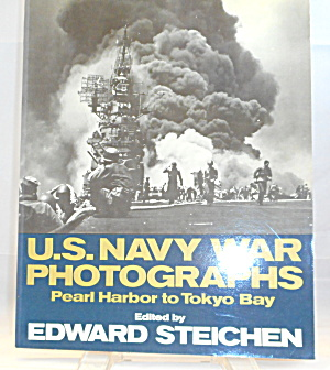 Us Navy War Photographs By Edward Steichen B2905