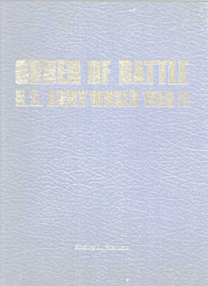 Order Of Battle: Us Army World War Ii B2907