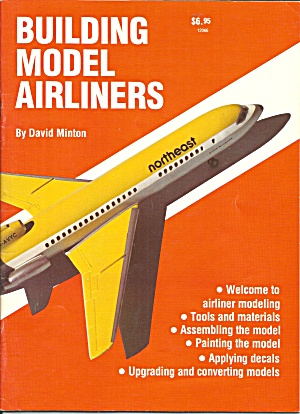 Building Model Airliners By David Minton B3137