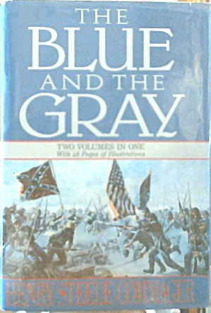 The Blue And The Gray Two Volumes In One Civil War Hardcover B3503