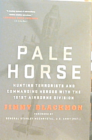 Pale Horse Hunting Terrorists With 101st Airborne Division B3660