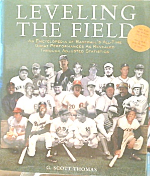 Leveling The Field Baseball s Great Performances in Adjusted Stats B3757 (Image1)
