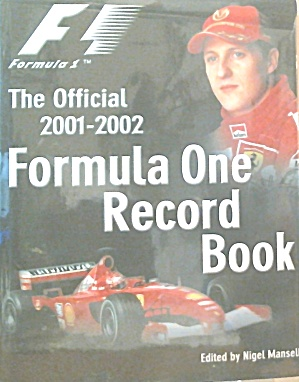 Formula One Record Book 2001 2002 Edited By Nigel Mansell B3938