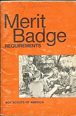 1980 Boy Scouts Merit Badge Requirements B3999 (Image1)