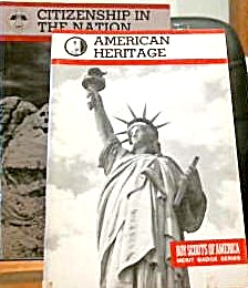 Boy Scout Merit Badge Series Booklets Citizenship and Heritage Lot of Two (Image1)