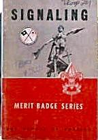 Boys Scouts of America Merit Badge Series Signaling 1959 b4037 (Image1)