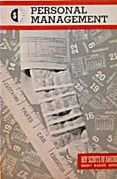 Boys Scouts of America Merit Badge Series Personal Management 1981 b4043 (Image1)