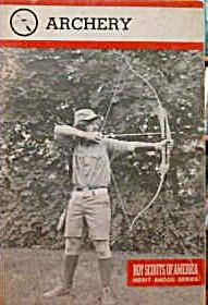 Boys Scouts of America Merit Badge Series Archery 1982 b4046 (Image1)
