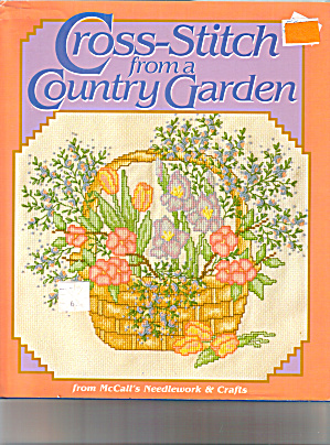 Cross-stitch From A Country Garden - Mccall's