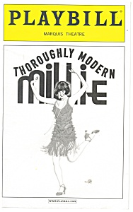 Thoughly Modern Millie Playbill Leslie Uggams bk0001 (Image1)
