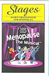 Menopause The Musical Playbill bk0002 (Image1)