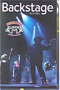 Back Stage Playbill Alabama Theatre Playbill bk0006 (Image1)