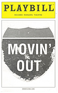 Movin Out Richard Rodgers Theatre Playbill bk0007 (Image1)