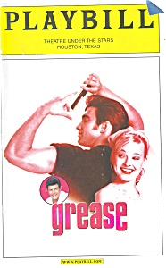 Grease Theatre Under the Stars Playbill bk0009 (Image1)