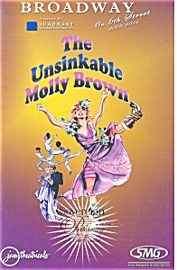 The Unsinkable Molly Brown Theatre Playbill (Image1)