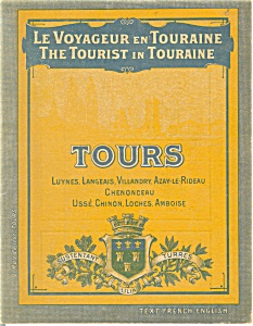 The Tourist in Toraine, WWI Era Booklet (Image1)