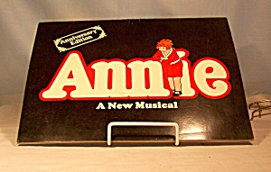 Annie A New Musical Program Booklet