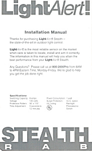 Light Alert Installation Manual bk0102 (Image1)