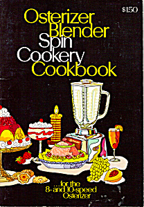 Osterizer Blender Spin Cookery Cookbook Manual Bk0104