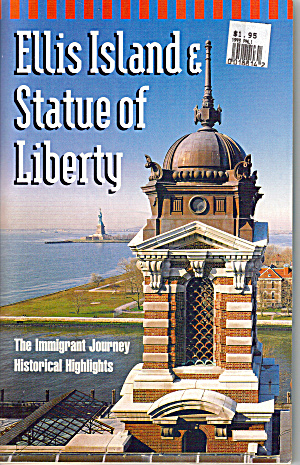 Ellis Island & Statue of Liberty Booklet (Image1)