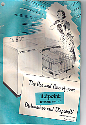 Use And Care Of Your Hotpoint Electric Diswasher Bk0150
