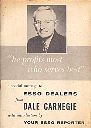 Dale Carnegie Message To Esso Dealers