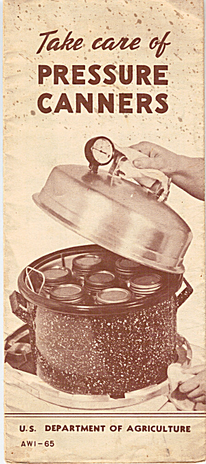 Pressure Cooker Manual of WWII Era (Image1)