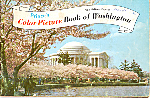 Prince S Color Picture Book Of Washington Dc Bk0162