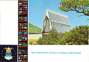 The United States Air Force Academy Cadet Chapel bk0174 (Image1)