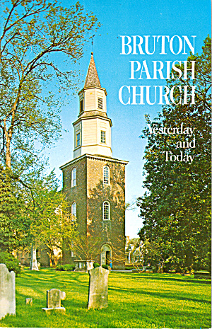 Bruton Parish Church Yesterday and Today Booklet bk0177 (Image1)